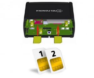 RUT950 Dual SIM Card Slots