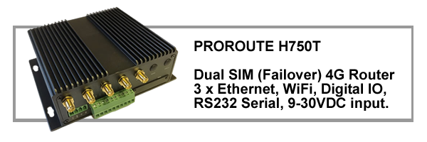 Proroute H750T Dual SIM 4G Router